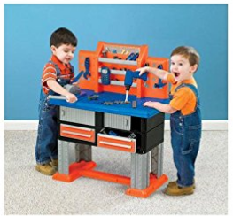 Amazon.com American Plastic Toy 38 Piece Deluxe Workbench Toys Games