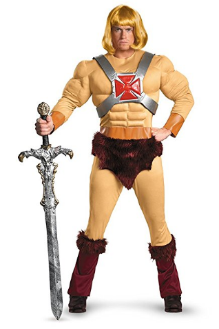 Amazon.com Disguise Masters Of The Universe He Man Classic Muscle Mens Adult Costume Clothing