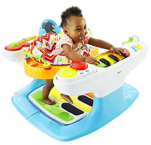 Amazon.com Kid Piano Keyboard Best Toddler Toys Fisher Price 4 in 1 Step n Play boys toys girl toys Toys Games