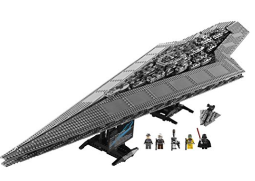 Amazon.com Lego Star Wars Compatible Super Star Destroyer Toys Games