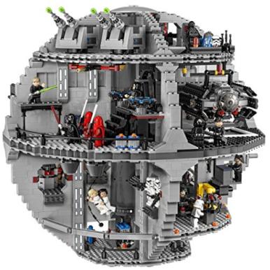 Amazon.com LEGO Star Wars Death Star 75159 Toys Games (2)