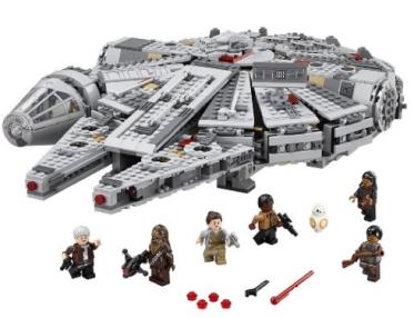 Amazon.com LEGO Star Wars Millennium Falcon 75105 Building Kit Toys Games (1)