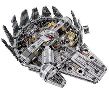 Amazon.com LEGO Star Wars Millennium Falcon 75105 Building Kit Toys Games (2)