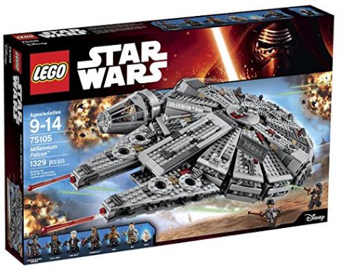 Amazon.com LEGO Star Wars Millennium Falcon 75105 Building Kit Toys Games