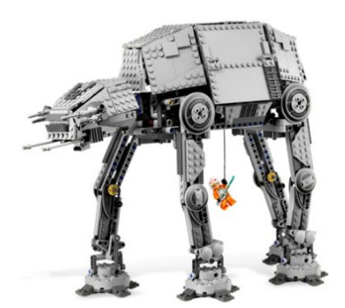Amazon.com LEGO Star Wars Motorized Walking AT AT Toys Games (1)
