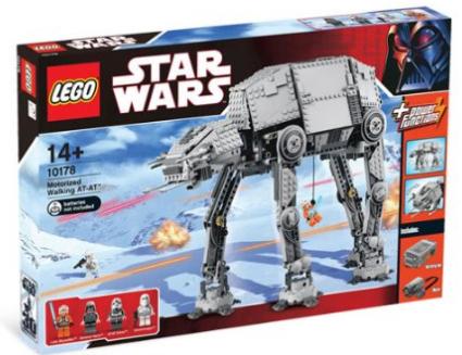 Amazon.com LEGO Star Wars Motorized Walking AT AT Toys Games