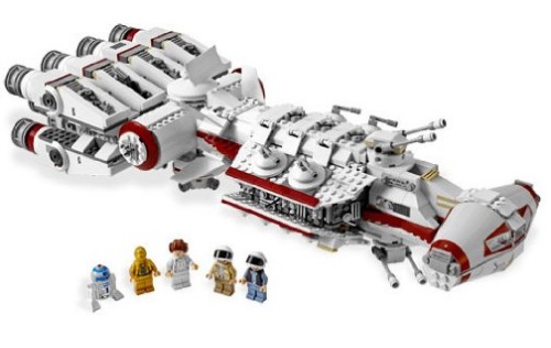 Amazon.com LEGO Star Wars Tantive IV 10198 Toys Games (1)
