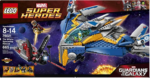 Amazon.com LEGO Superheroes The Milano Spaceship Rescue Building Set 76021 Discontinued by manufacturer Toys Games