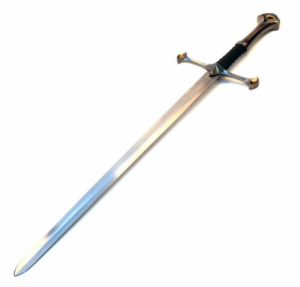 Amazon.com Medieval Crusader Chivalry Knight s Long Sword w Scab Martial Arts Swords Sports Outdoors