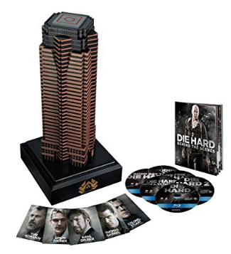 Amazon.com Nakatomi Plaza Die Hard Collection Blu ray Bruce Willis William Atherton Paul Gleason Reginald Veljohnson John McTiernan Renny Harlin Len Wiseman John Moore Movie