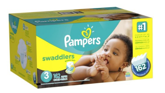 Amazon.com Pampers Swaddlers Diapers Size 3 162 Count Health Personal Care