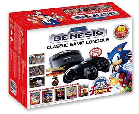 Amazon.com Sega Genesis Classic Game Console 2016 Video Games