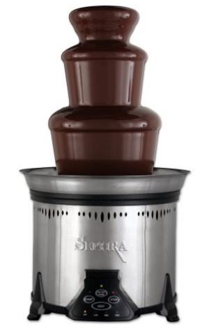 Amazon.com Sephra CF18M SST Elite 6 lb Capacity Chocolate Fountain Stainless Steel Kitchen Dining