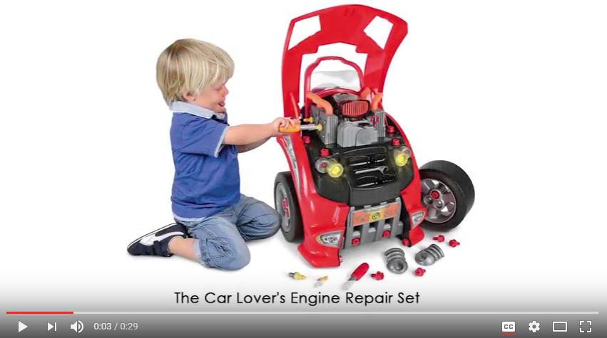 Car Lover s Engine Repair Set YouTube