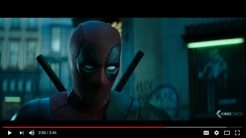 DEADPOOL 2 Teaser Trailer 2018 YouTube