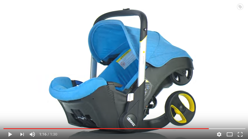 Doona infant car seat stroller YouTube