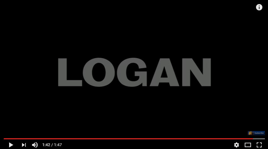 Logan Official Trailer HD 20th Century FOX YouTube