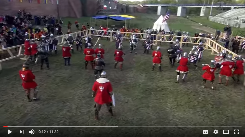 MEDIEVAL COMBAT WORLD CHAMPIONSHIPS MALBORK 2015 POLAND VS USA YouTube
