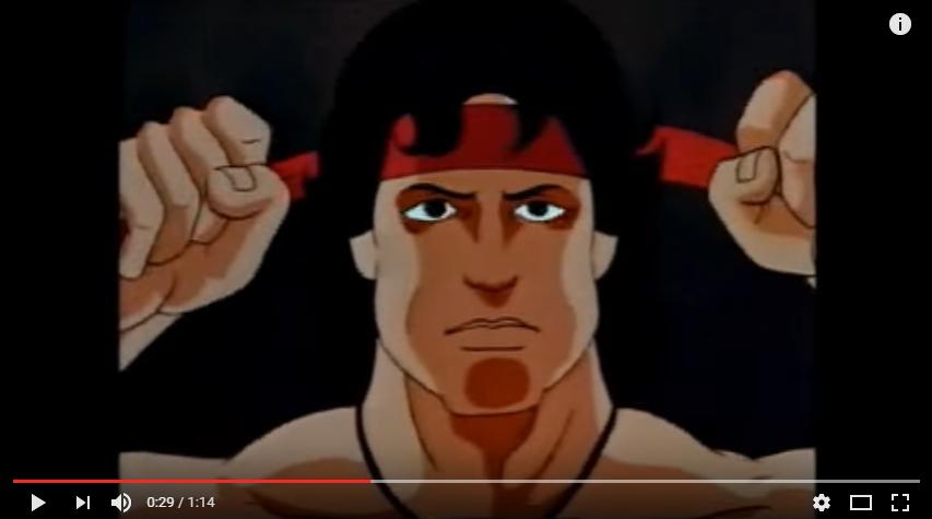 Rambo Animated intro YouTube