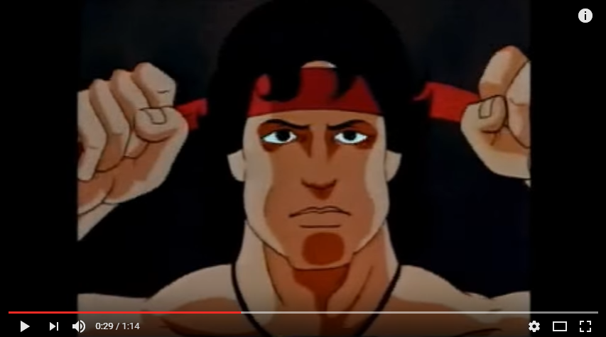 Rambo Animated intro YouTube