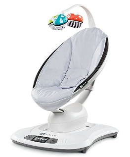 Amazon.com 4moms mamaRoo Baby Swing Grey Classic Baby