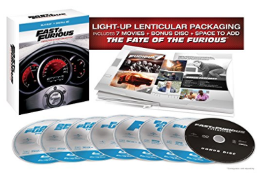 Amazon.com Fast Furious The Ultimate Ride Collection Blu ray 1 7 Vin Diesel Paul Walker Lucas Black Tyrese Gibson Bow Wow Michelle Rodriguez Eva Mendes Nathalie Kelley Dwa