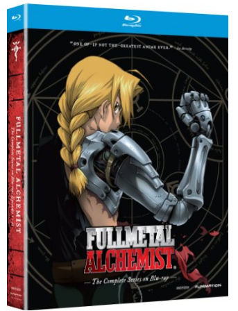 Amazon.com Fullmetal Alchemist The Complete Series Blu ray Vic Mignona Maxey Whitehead Jerry Jewell Movies TV