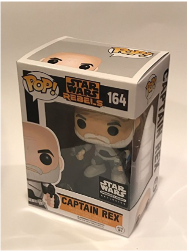Amazon.com Funko Pop Captain REX Star Wars Rebels Smugglers Bounty March 2017 Exclusive 164 Pop Only Toys Games