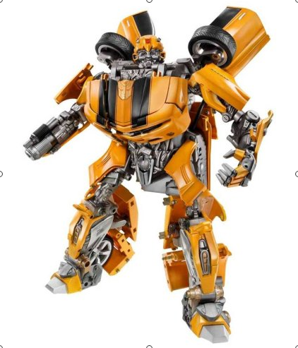 Amazon.com Hasbro Transformers Ultimate Bumblebee Figure Toys Games