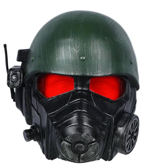Amazon.com Veteran Ranger Helmet Deluxe Riot Armor Mask Fallout Cosplay Props Xcoser Clothing