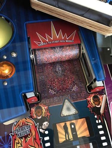 Big Lebowski Pinball Machine New 32 Impossibly Rare eBay