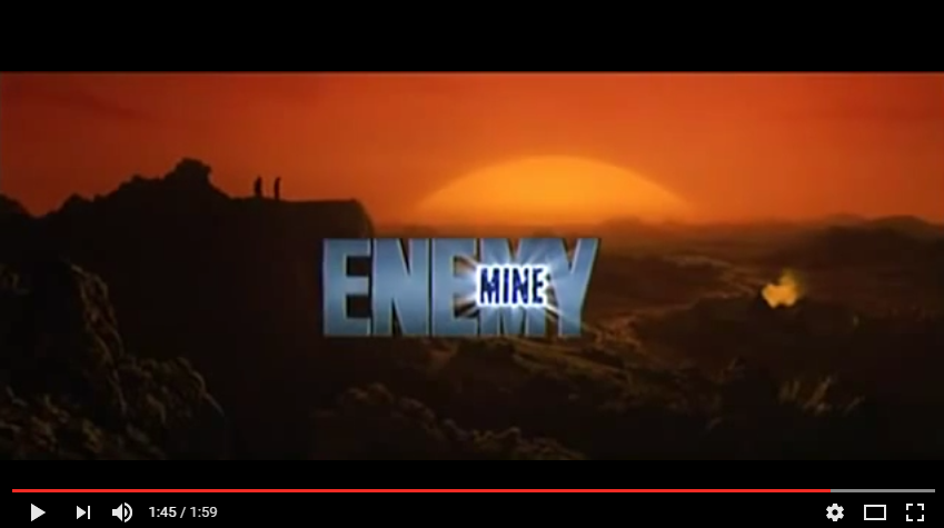 Enemy Mine 1985 Trailer YouTube