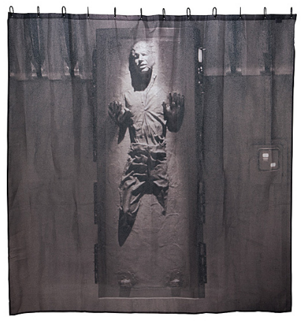Han Solo in Carbonite Shower Curtain Google Search