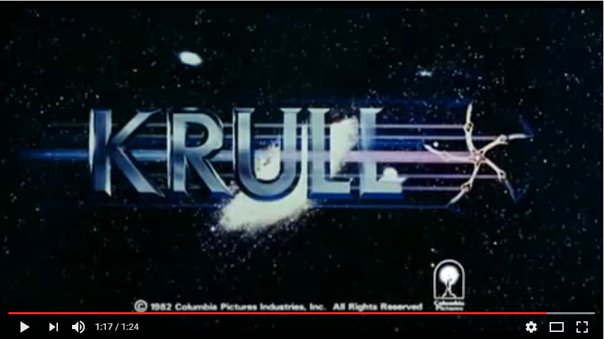 Krull 1983 Trailer YouTube