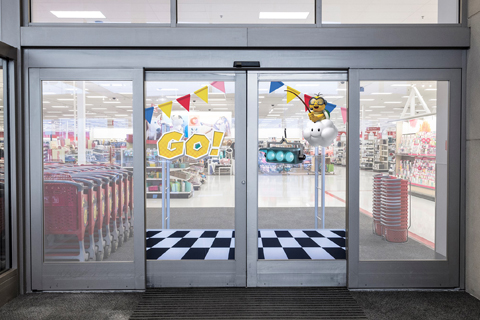 Mario doors