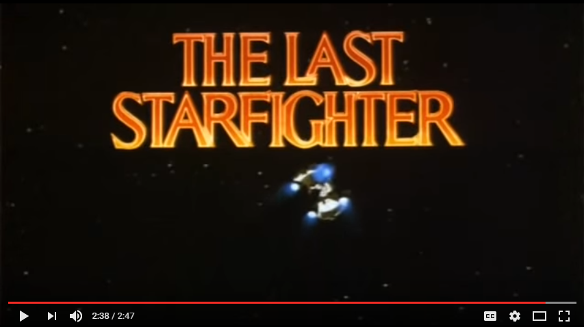 The Last Starfighter Theatrical Trailer YouTube