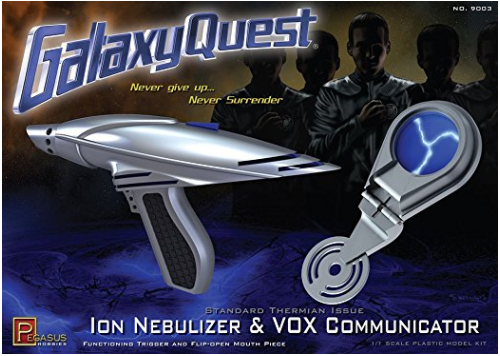 Amazon.com Galaxy Quest ION Nebulizer Pistol VOX Communicator Set 1 1 Full Scale Model Kit Model Building Kits Sports Outdoors