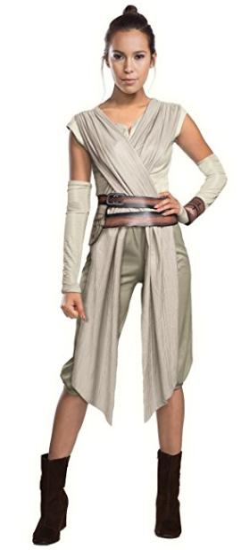 Amazon.com Star Wars The Force Awakens Adult Rey Costume Clothing