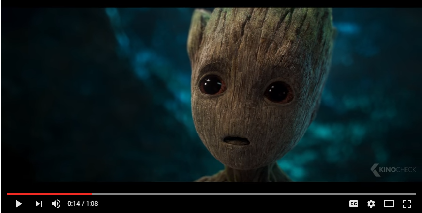 Baby Groot Don t Push This Button Clip 2017 Guardians of the Galaxy Vol. 2 YouTube
