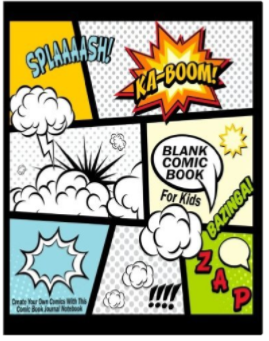 Blank Comic Book For Kids Create Your Own Comics With This Comic Book Journal Notebook Over 100 Pages Large Big 8.5 x 11 Cartoon Comic Book With Lots of Templates Blank Comic Boo