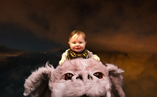 Grayson on Falcor