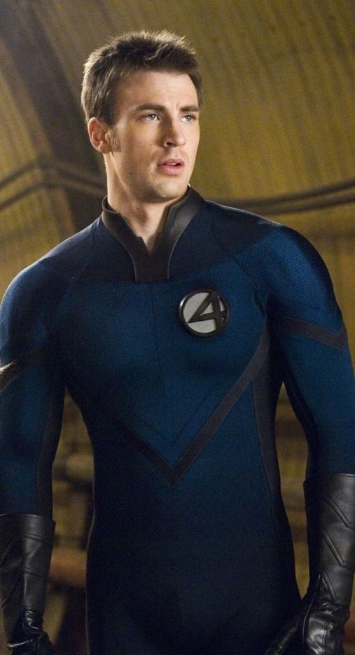 chris evans as human torch
