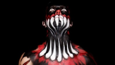 Finn Balor make up 3