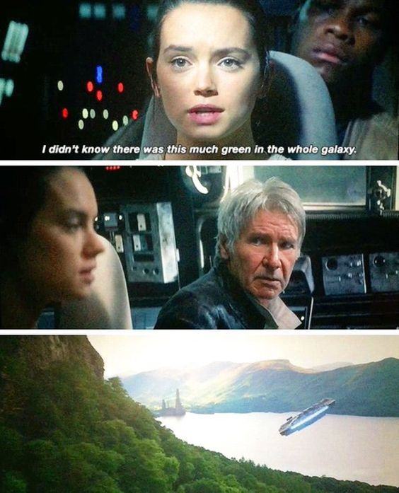 han's look at Rey