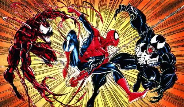 spider-man, venom & carnage