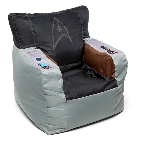 star trek bean bag chair