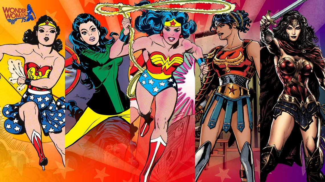 wonder woman outfits