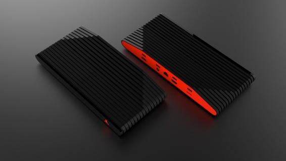 Ataribox black/red