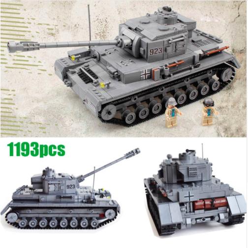 Building Blocks Panzer Tank