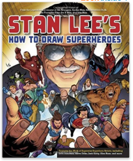 how to draw super-heroes
